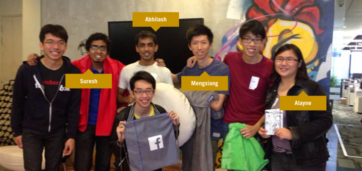 Learning to learn: How Team SIS won first-ever Facebook Singapore Hackathon