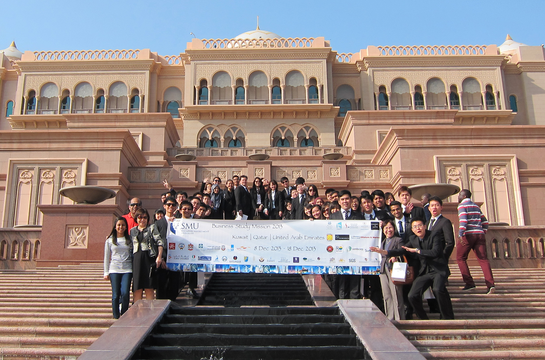 SMU Business Study Mission to the Middle East 2013