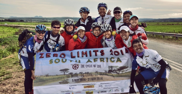 Zero Limits 2014: Cycling to serve