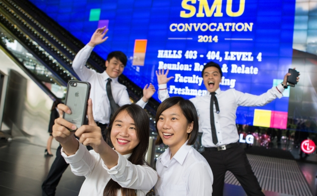 SMU Convocation 2014: We welcome our new constellation of stars