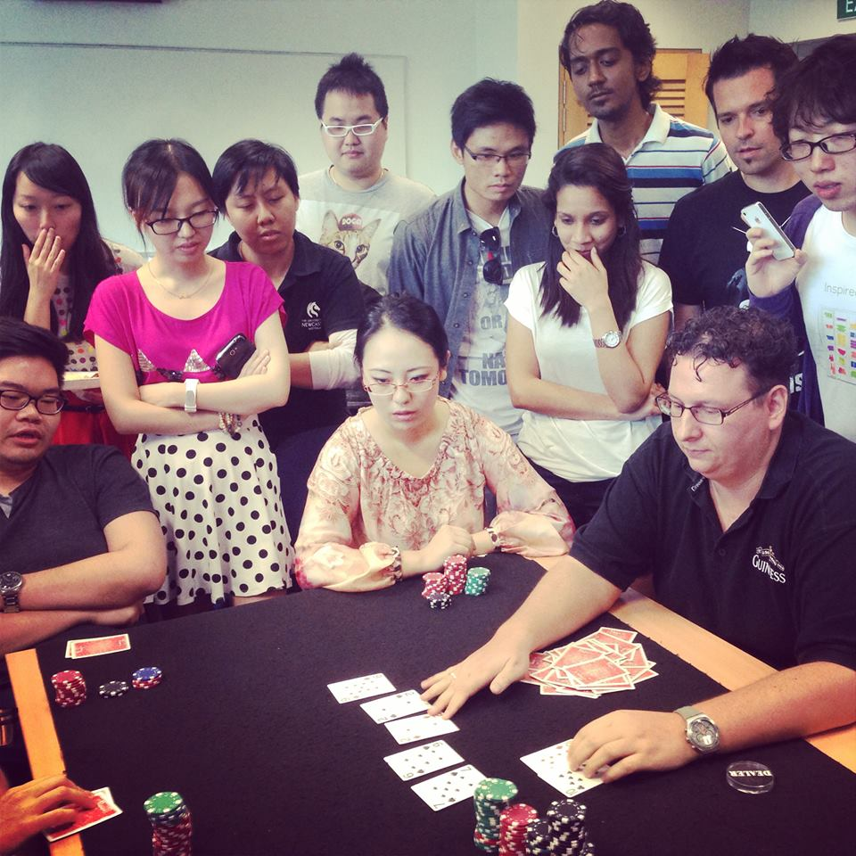SMU MM programme: Poker has never been so cerebral... and intense!