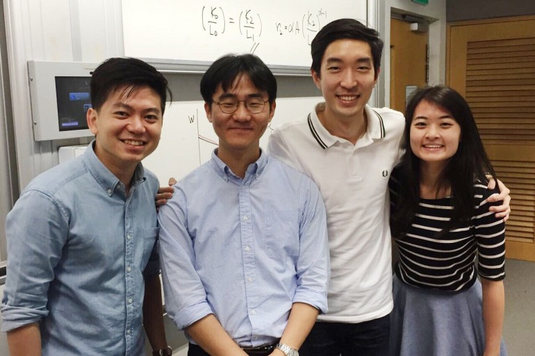School of Economics — Labour Economics class with Professor Lee and friends