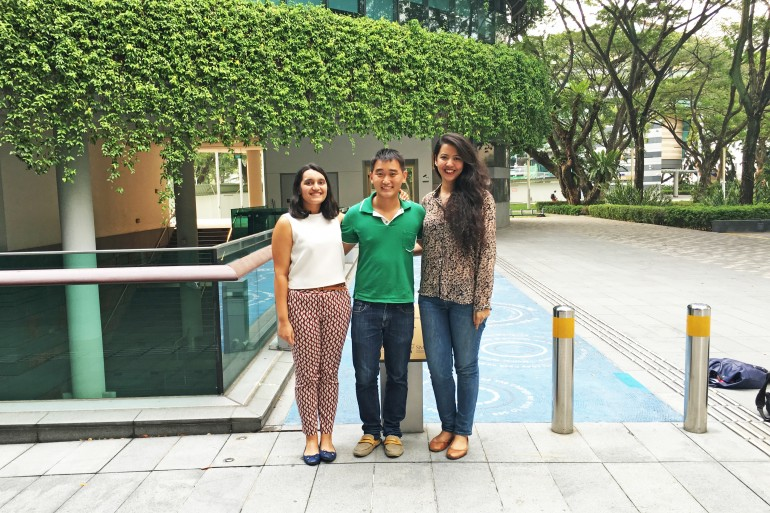 SMU undergraduate trio Kritika Lohumi, Karl Gan and Syed Mahera Masuda to launch The stART Series exhibitions this April