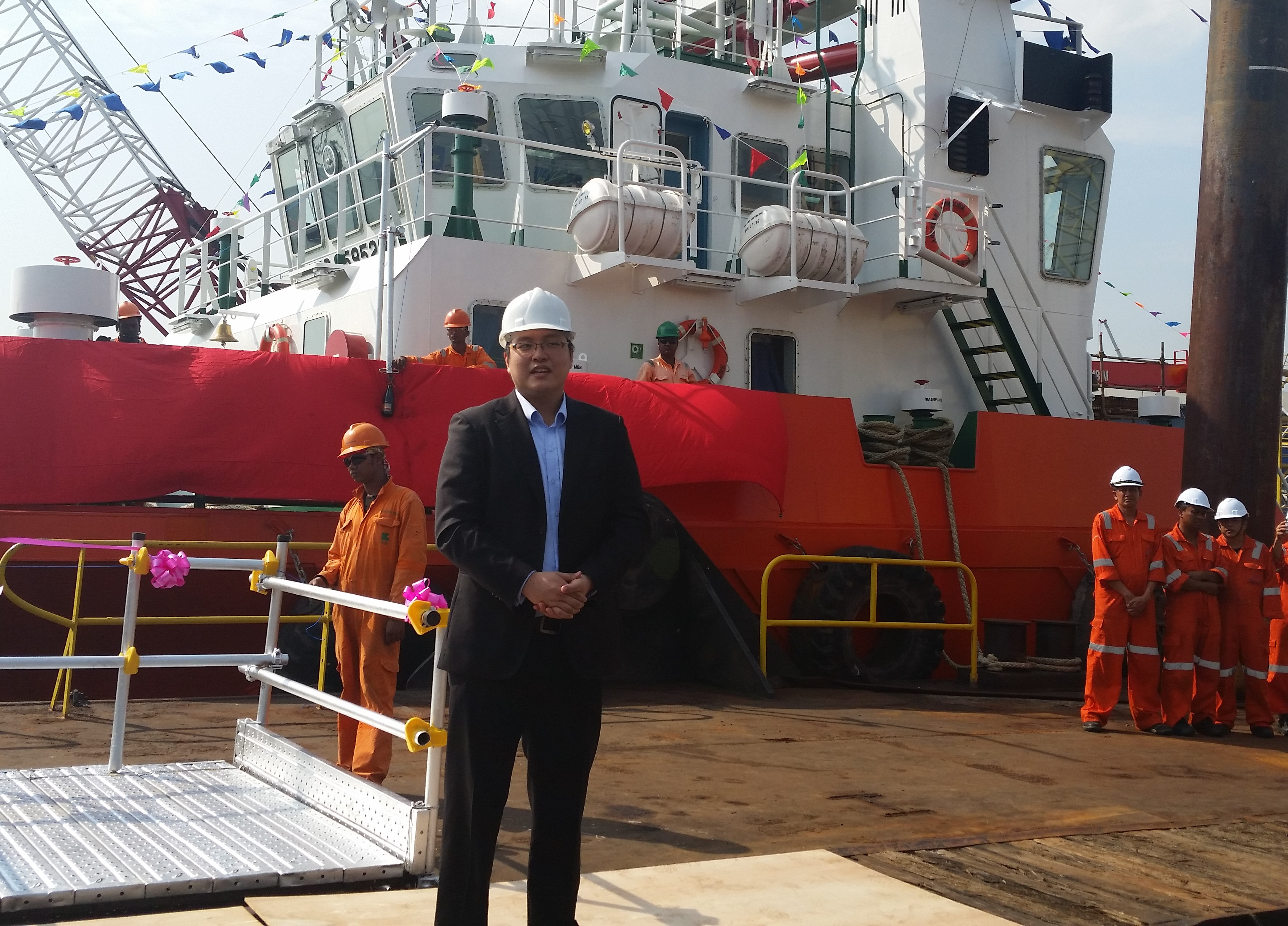 Naming Ceremony for a vessel