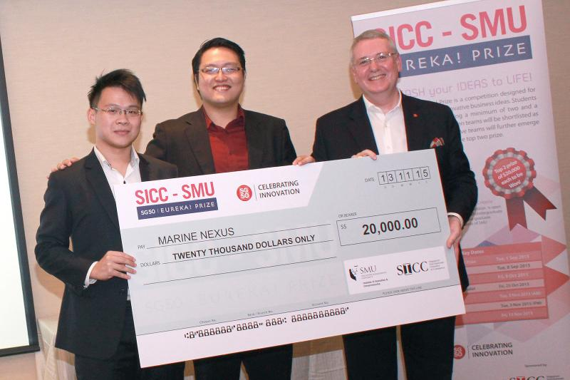 Eureka Prize with SICC chairman