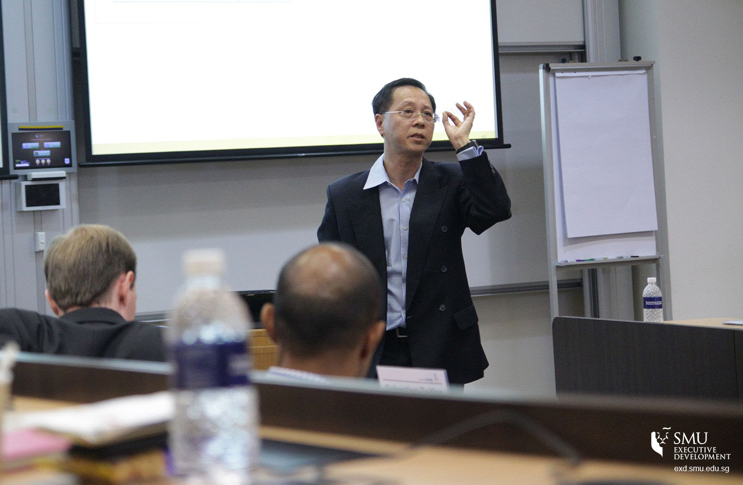 """Mr Patrick Thng spoke at SMU's Future Ready Forum 2016 on """"Digital Disruption: What, Why and How for the C-level Executives""""."""