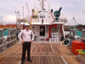 Visiting a vessel