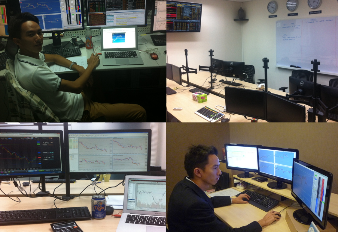 Spencer Li - Professional proprietary trading in progress