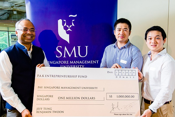 Benjamin Twoon and Jeff Tung donation to SMU