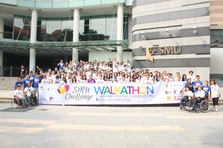 SMU Challenge Walkathon 2015