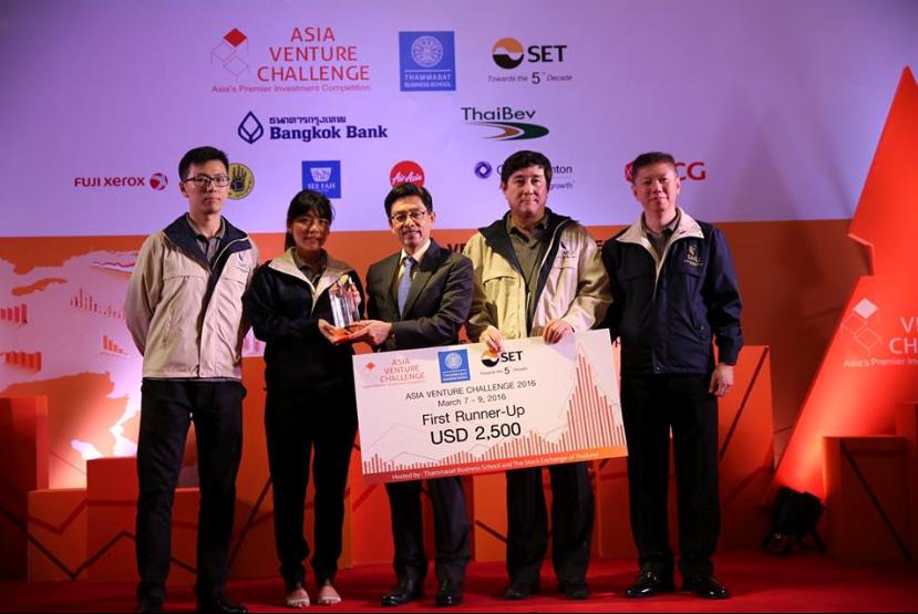 Team FlyCargo's Journey to Asia Venture Challenge 2016