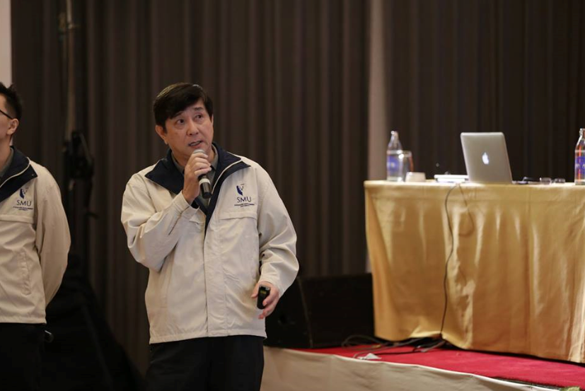 FlyCargo's team leader Ang Peng Chua in action.