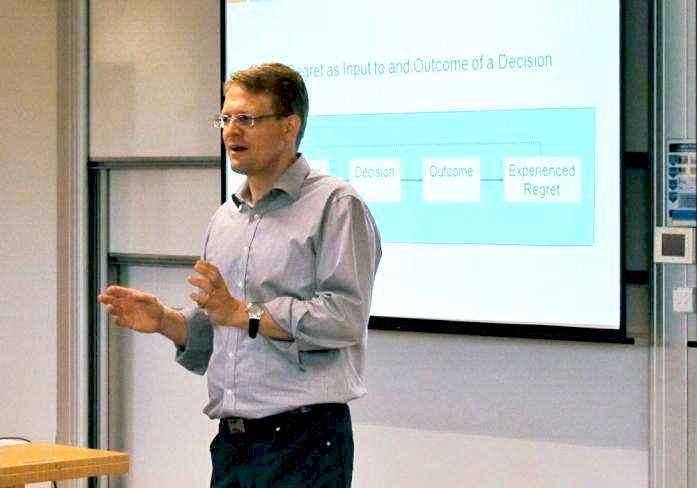 Professor Jochen Reb at a workshop