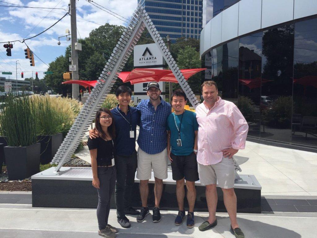 Ngoc Internship in Atlanta