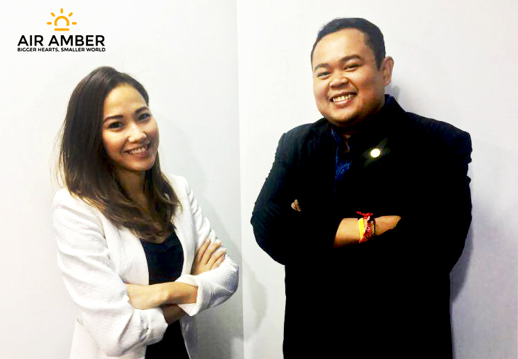 Shahril and Tiziana from Air Amber