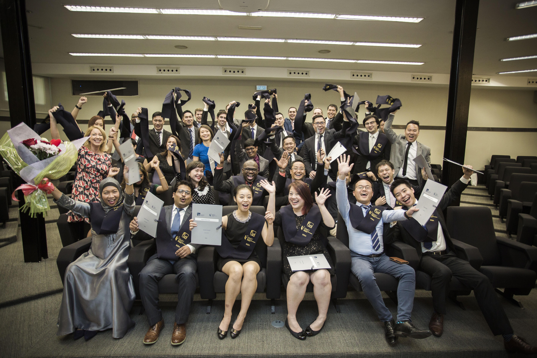IE-SMU MBA graduating class of 201