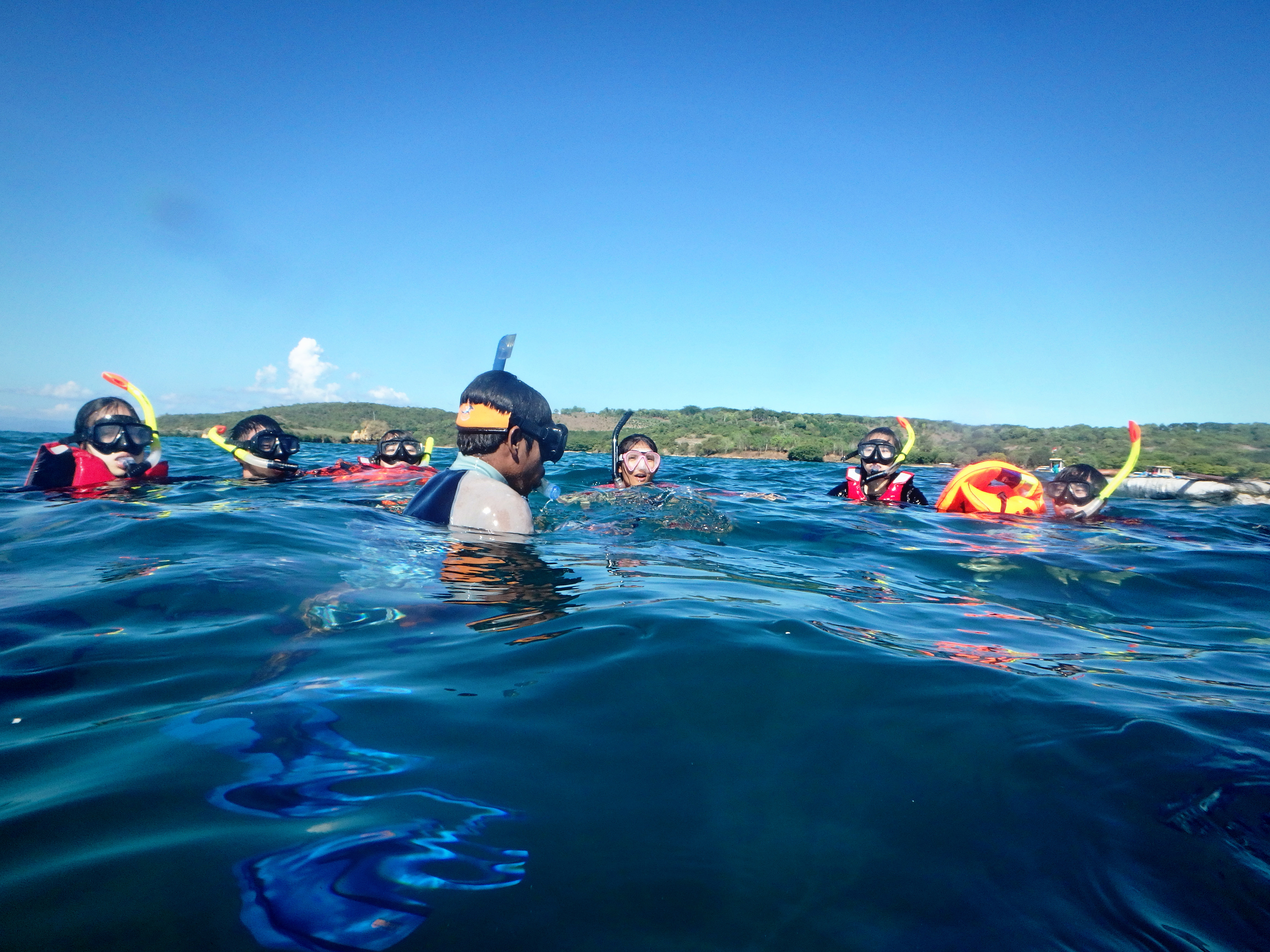 Snorkelling session
