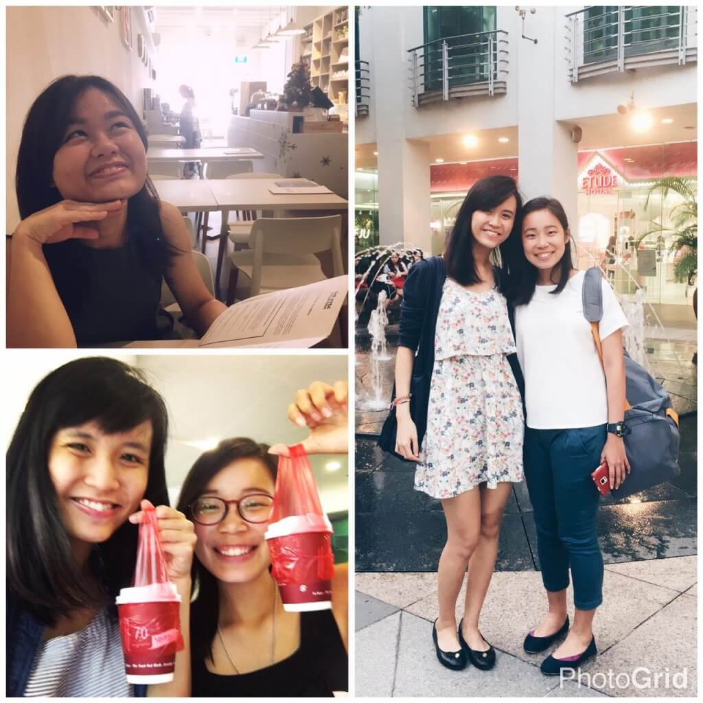 My pillar of support—featuring two of my closest friends and… Coffee :P