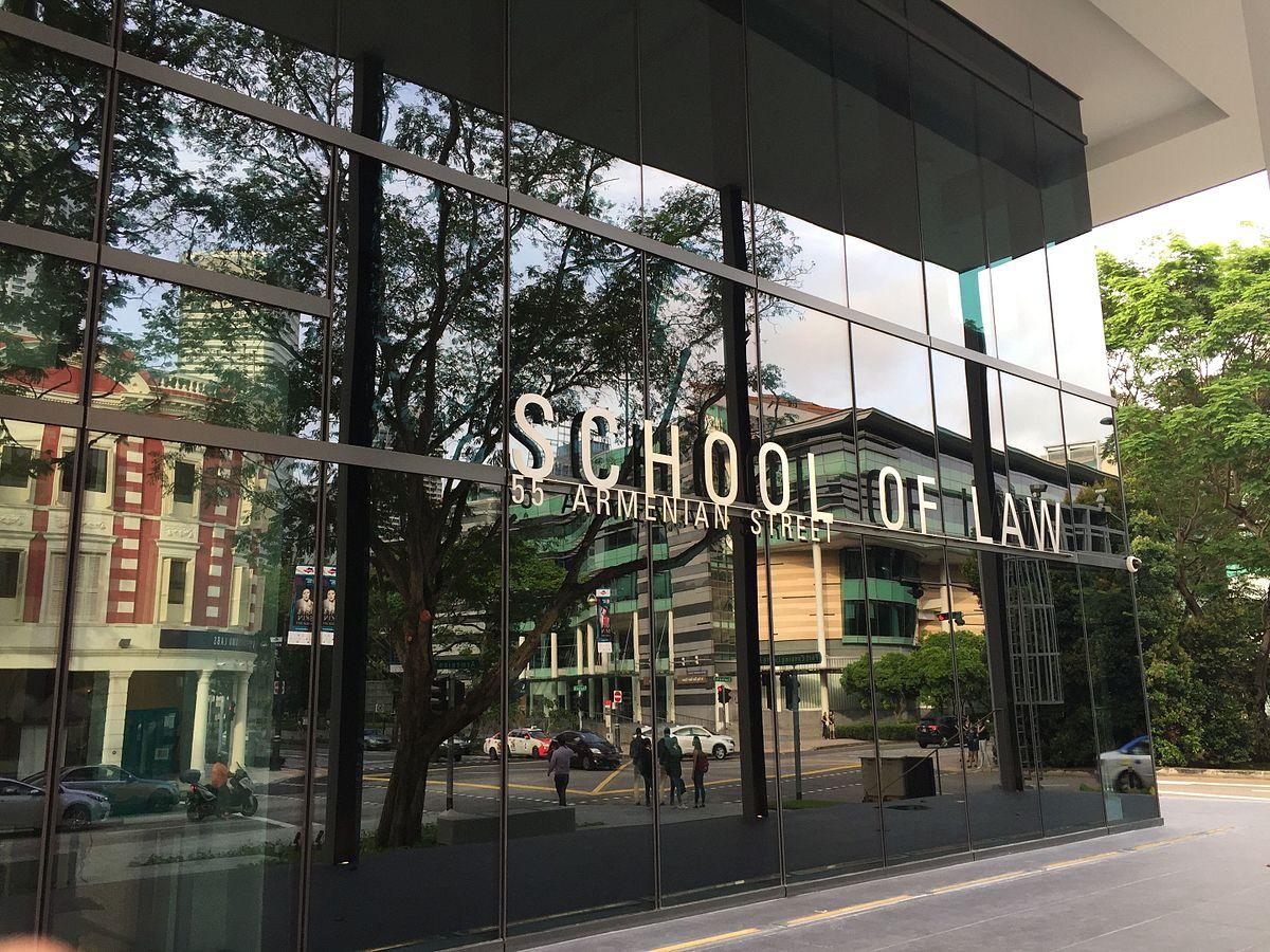 SMU School of Law building