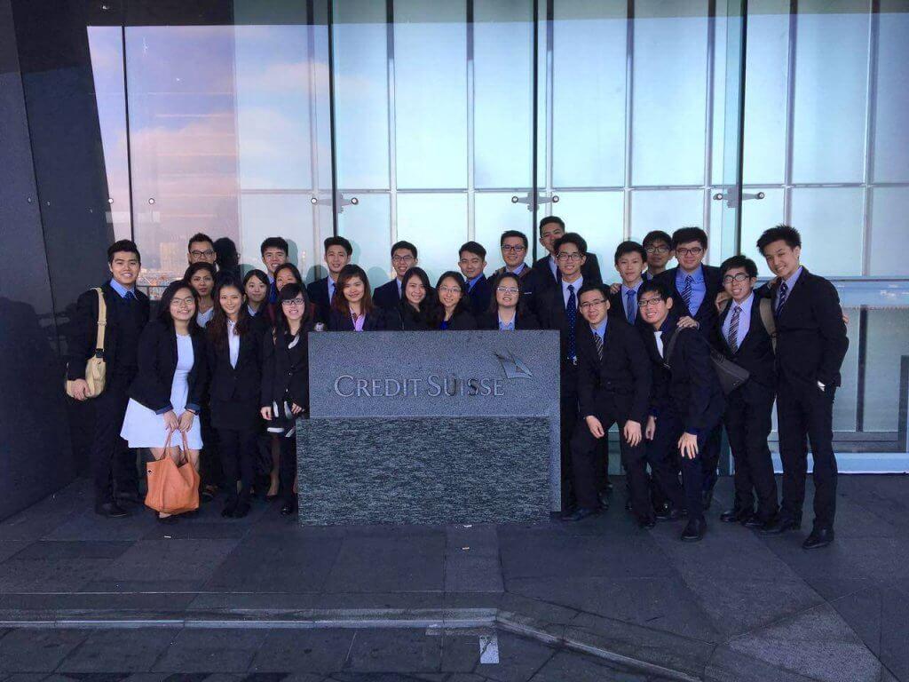 EYE Group visit to Credit Suisse Hong Kong