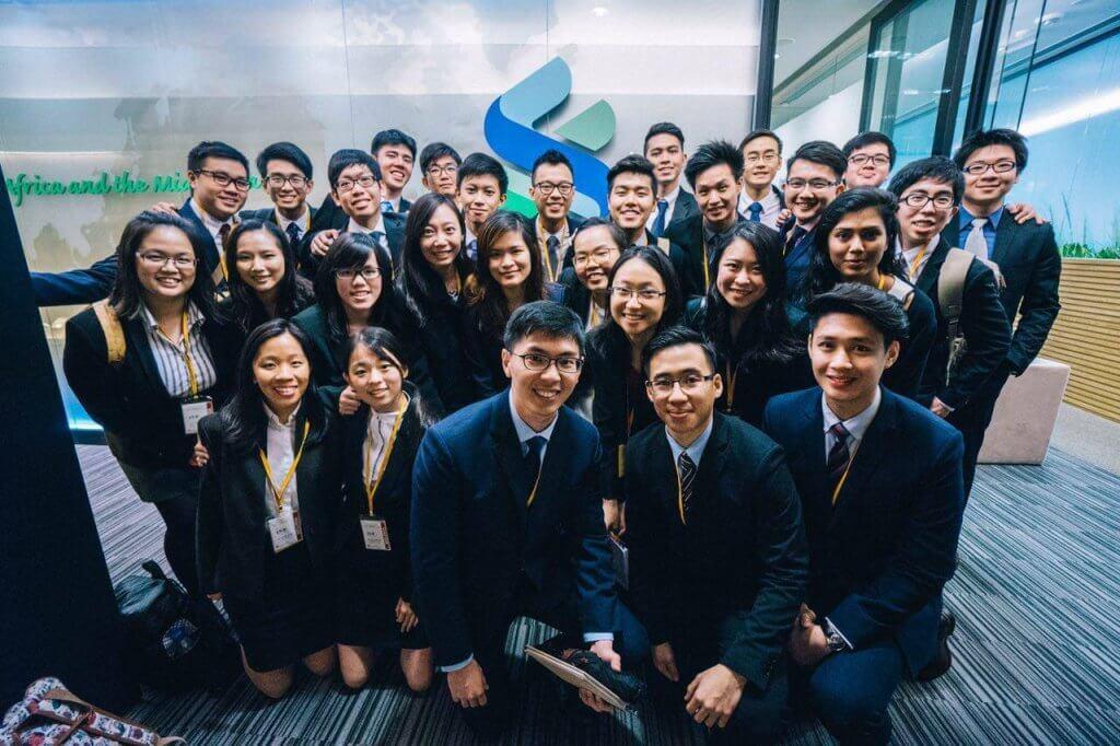 EYE Group Visiting Standard Chartered Hong Kong