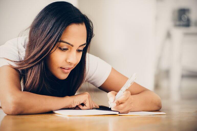 student education writing studying