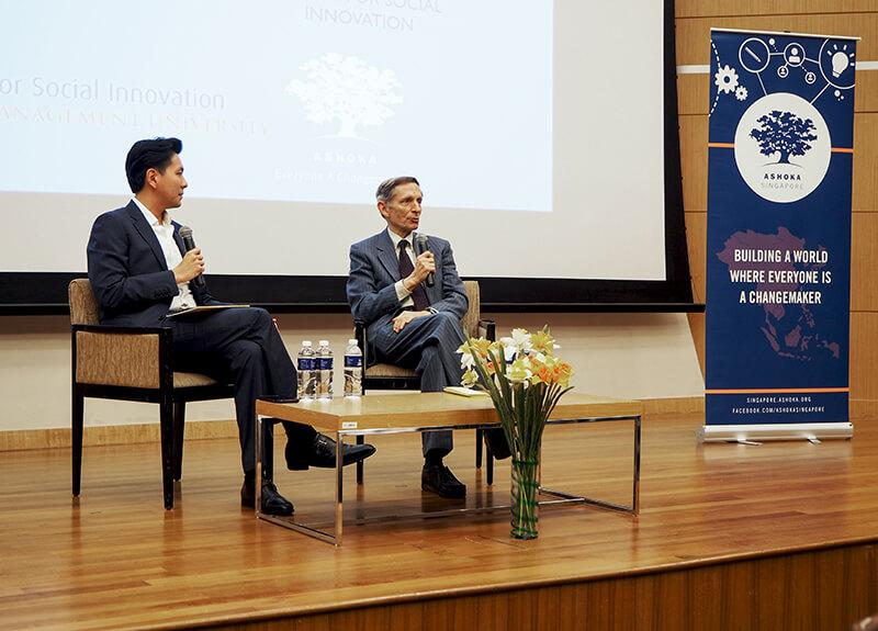 Jonathan Chang and Bill Drayton