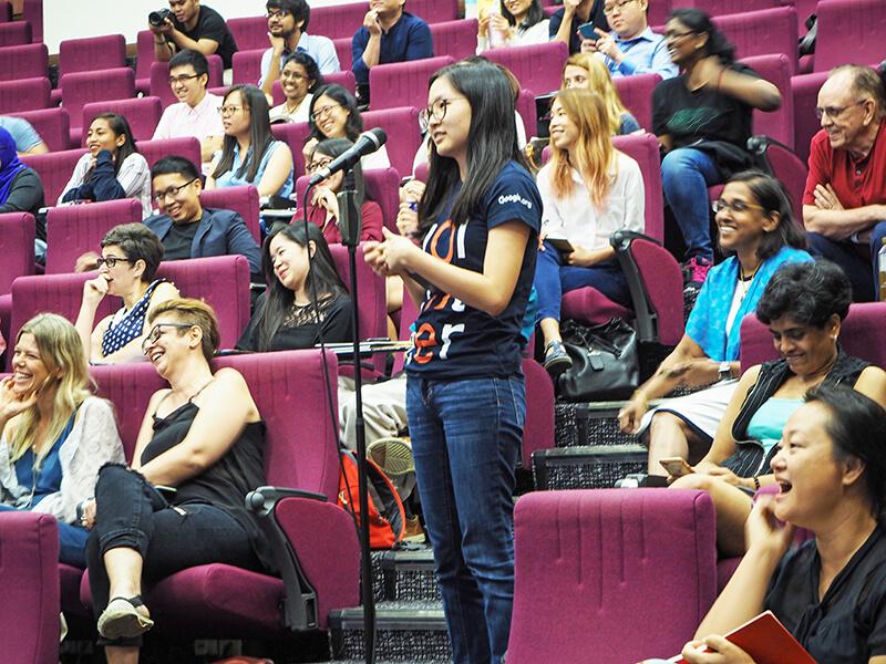 Audience at Ashoka Talk