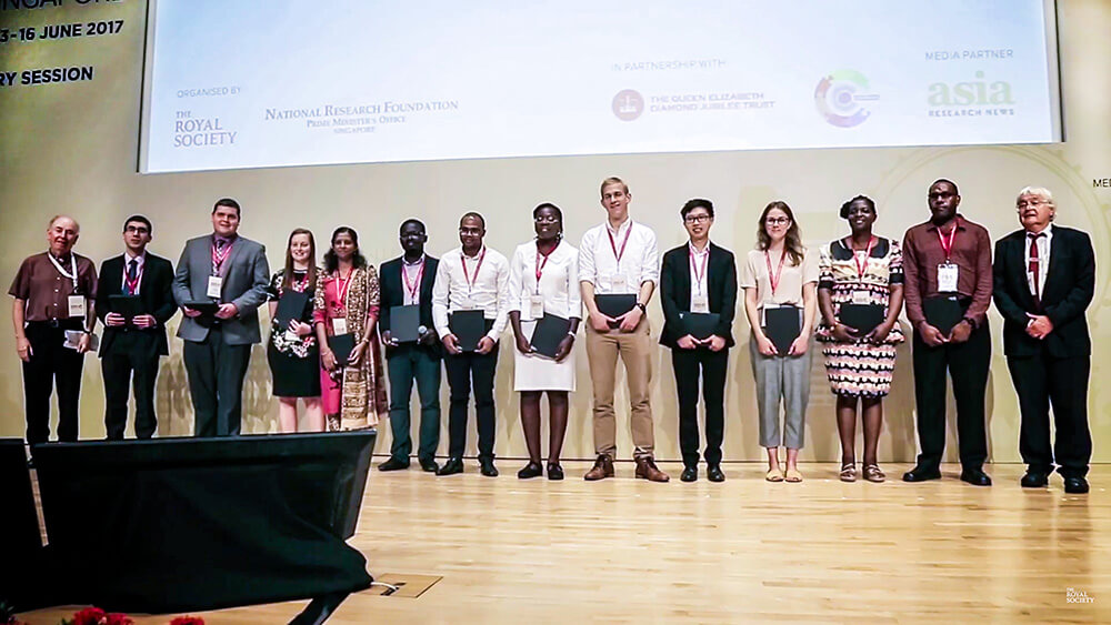 Andree at the Commonwealth Science Conference 2017