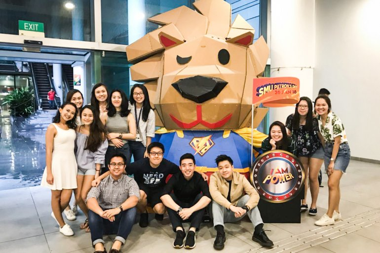 SMU Patron's Day 2018 Org Comm