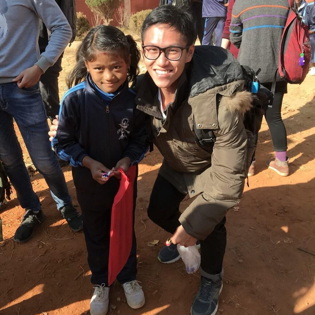 Norman in Nepal