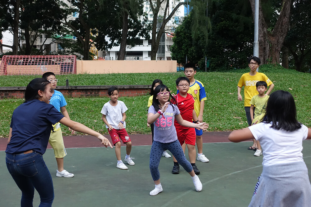 Captain's Ball at Fei Yue Student Care Centre