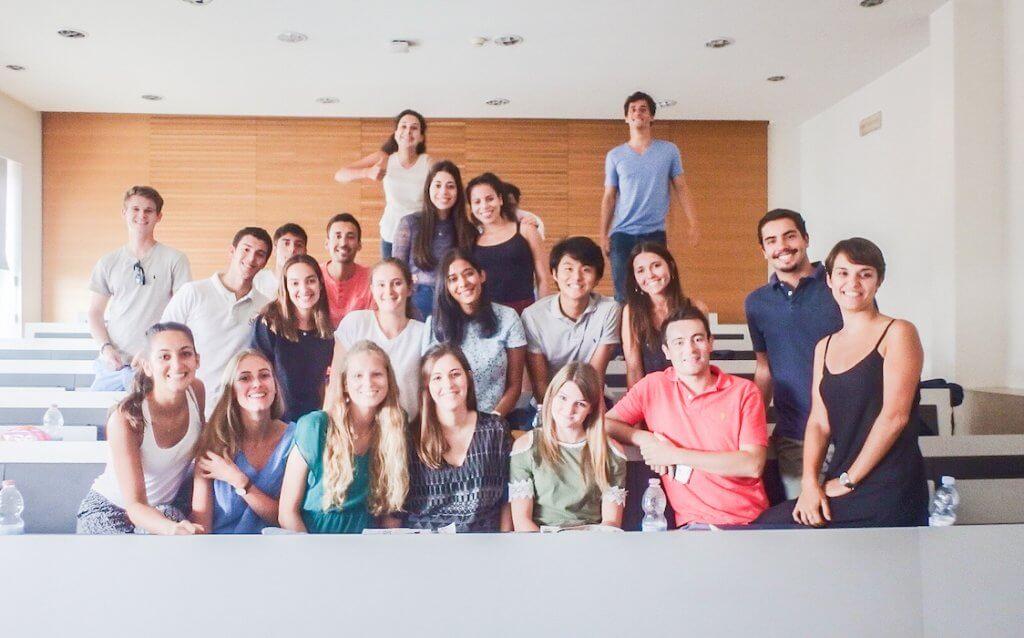 My Italian class in Milan