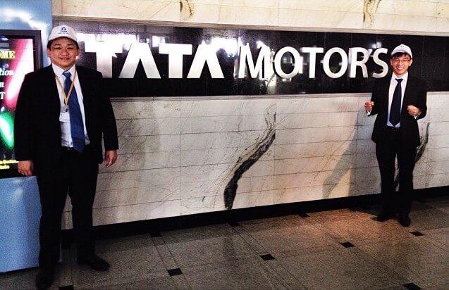 Low Wen Chun's Internship at Tata