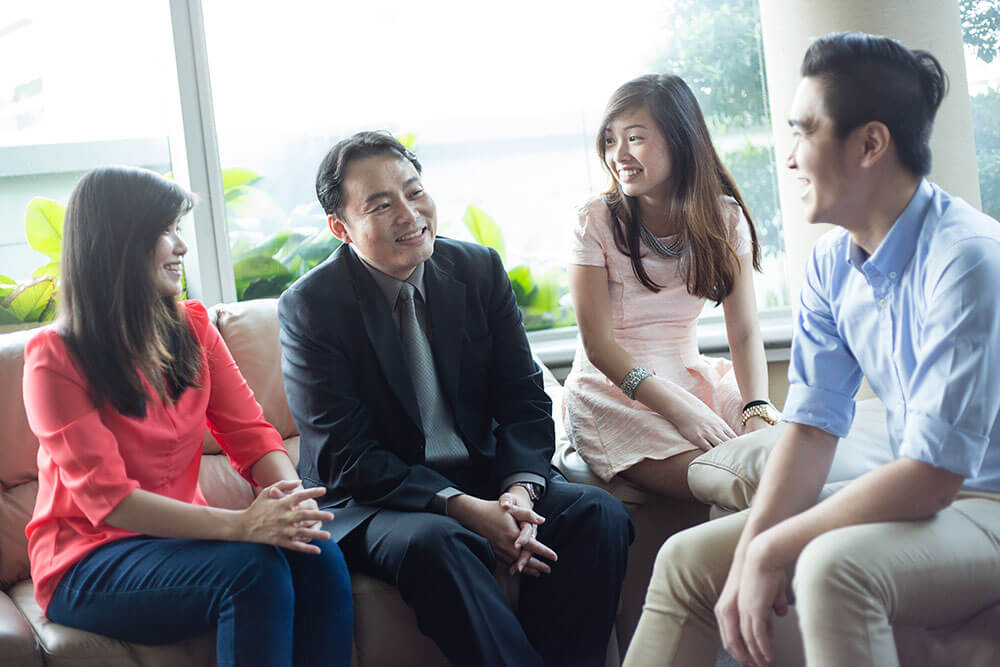 Assoc Prof Gary Pan and Students