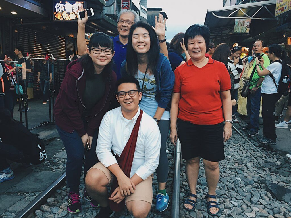 Matthew's Family trip to Taiwan in December 2016