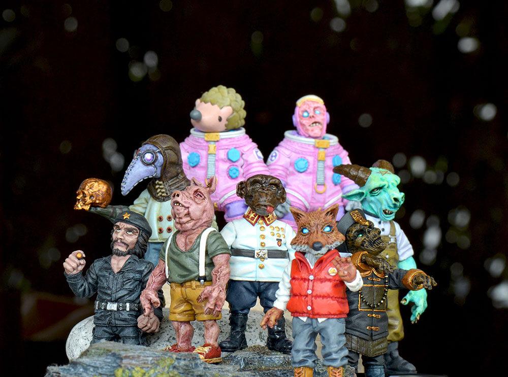 Daniel Yu's figurines