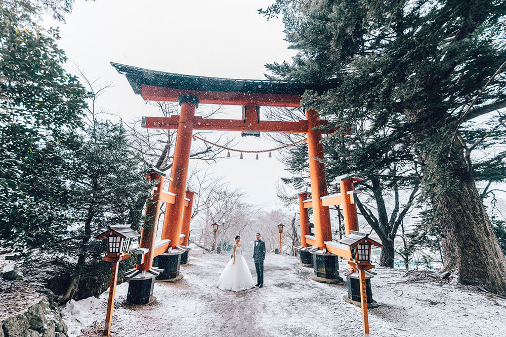 Couple in Japan