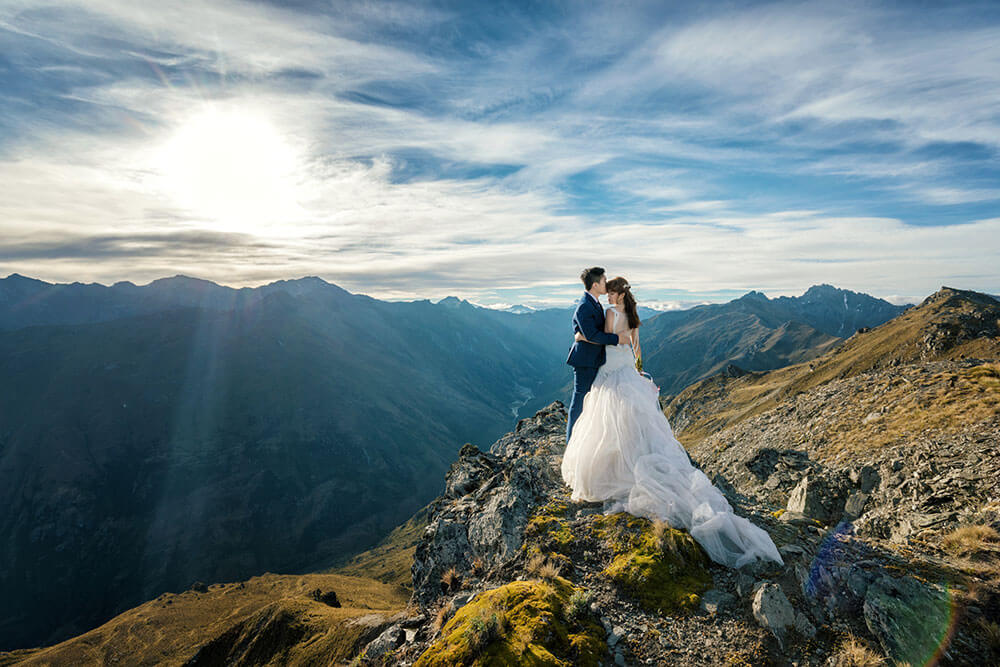 Couple in New Zealand