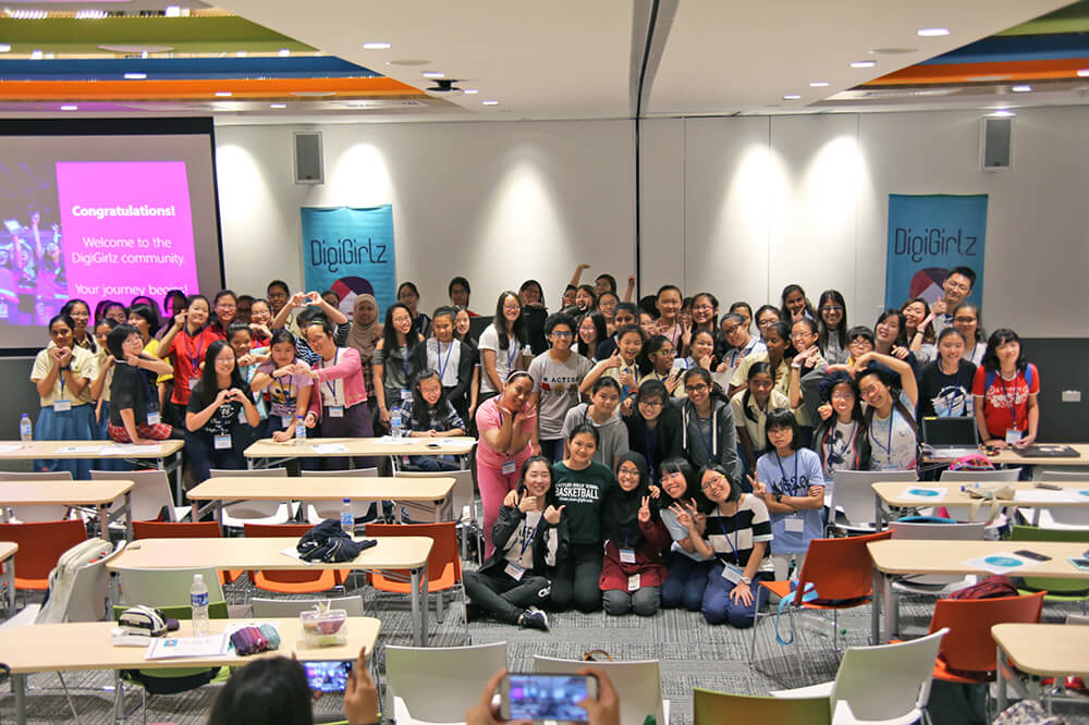 DigiGirlz 2017 Group Photo