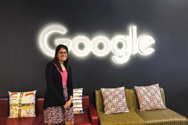 Chinkita at Google