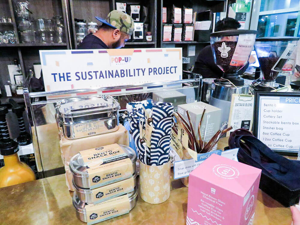 Sustainability Project pop-up at B3 Bistro