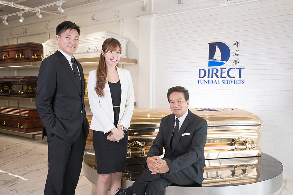Left to right: Darren Cheng, Jenny Tay and Roland Tay