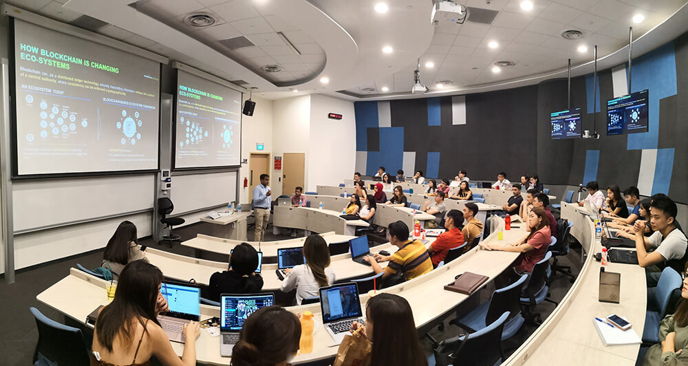 Workshop by the SMU Blockchain club