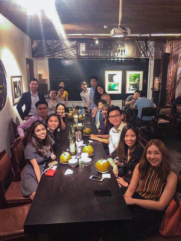 Meeting alumni in Vietnam