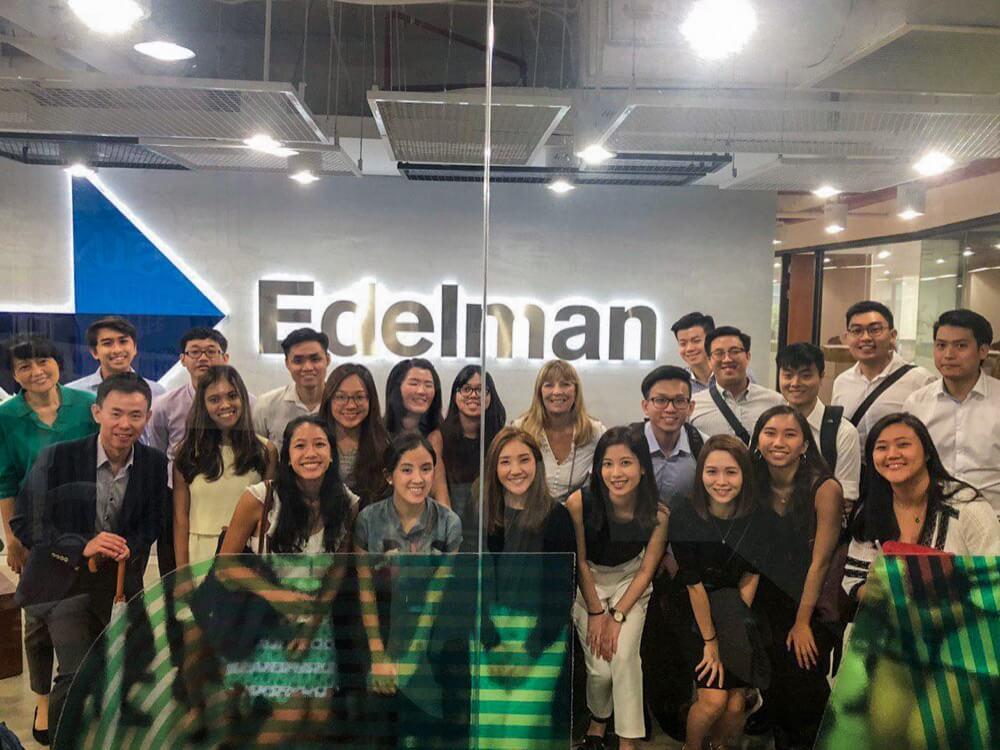 Visit to Edelman