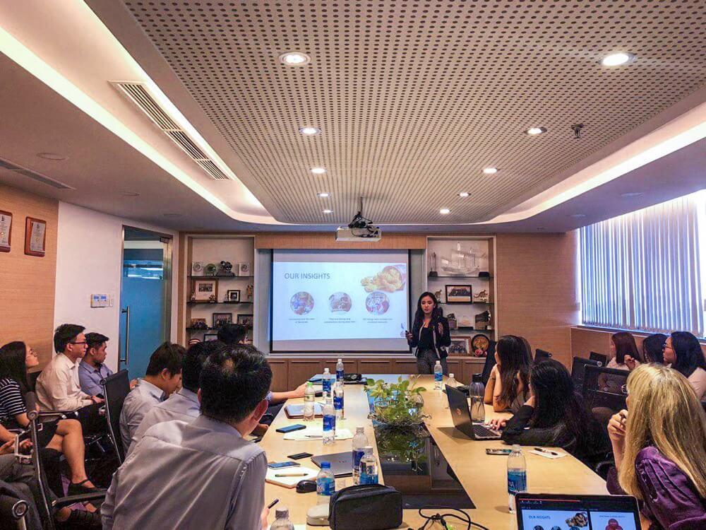 Presentation to KFC Vietnam