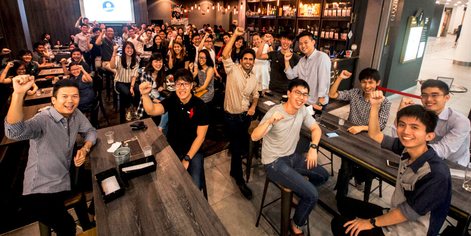 TMC's early formative days – a CoffeeChat session in Mar 2017 at B3 Cafe