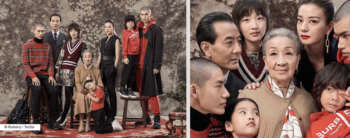Burberry controversial China ad