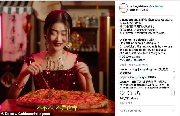 Dolce & Gabbana controversial China ad